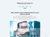 Why a Patent Lawyer is Required