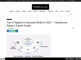 Top 5 Highest In Demand Skills In 2021 – Handsome Salary   Career Guide