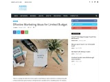 Effective Marketing Ideas for Limited Budget