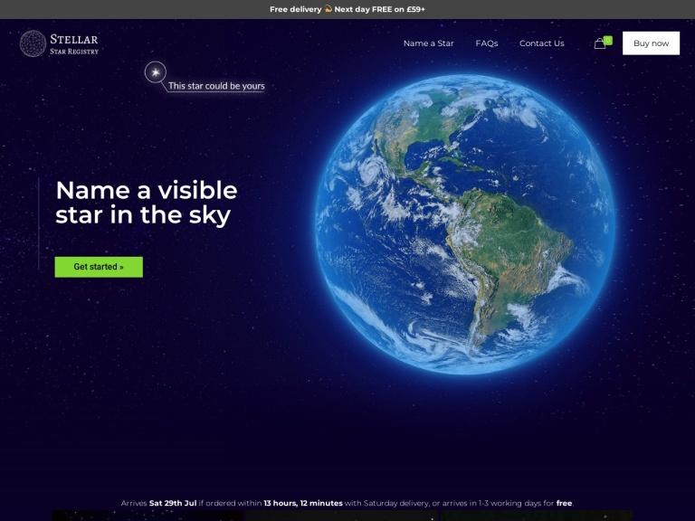 Buy a Star screenshot