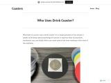 Who Uses Drink Coaster?- Coaster