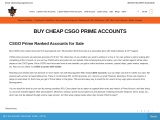 Buy CSGO Smurf Prime Ranked Accounts at Very Low Price