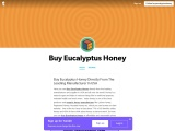 Buy Eucalyptus Honey At Affordable and Reasonable Prices In USA