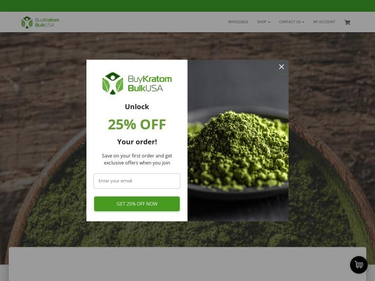 BuyKratomBulkUsa.Com screenshot