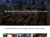 buy pinball arcarde games Pinballs
