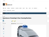 Importance of Investing in Floor Cleaning Machines