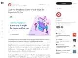 AMP For WordPress: Know Why It Might Be Important For You