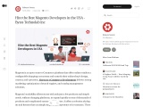 Magento: The Best Solution For Your ECommerce Platform