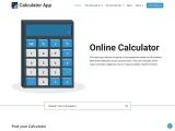 Calculator-app – Free online Calculators For math, statistics, finance, technology, Science
