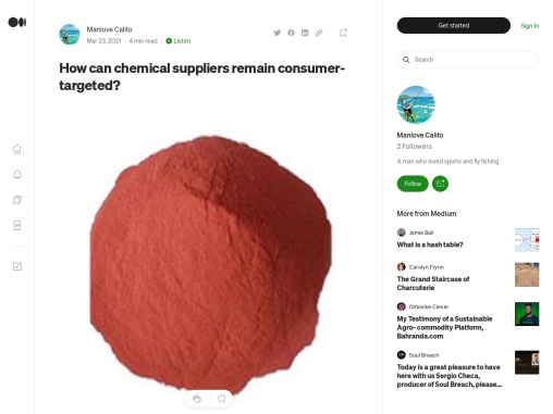 How can chemical suppliers remain consumer-targeted