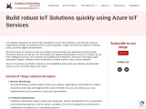 Build robust IoT Solutions quickly using Azure IoT Services