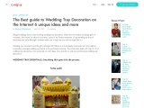 The Best guide to Wedding Tray Decoration