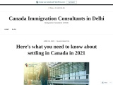 Here's what you need to know about settling in Canada in 2021