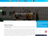 WHY STUDY IN USA | USA Visa | Student