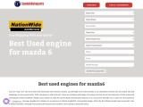 BEST Used engine for mazda 6 – With 20 Points Check Candotautoparts