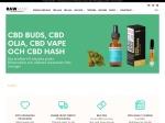 CBD Buds, CBD olja och CBD Muscle & Joint Creams