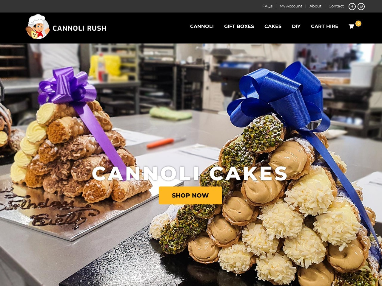 Cannoli Box in Sydney Australia