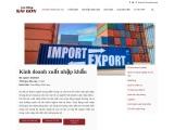 Kinh doanh xuất nhập khẩu