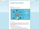 Car full History Check online free