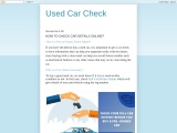 check your car information online