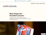 Best Tampa Car Accident Lawyers