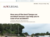 How one of the best Tampa car accident lawyers can help you in case of an accident?