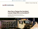 How Can a Tampa Car Accident Lawyer Help After an Accident?