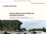 How to choose your Tampa car accident lawyers?