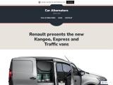 The new Kangoo, Express and Traffic vans