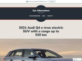 2021 Audi Q4 e-tron electric SUV with a range up to 520 km