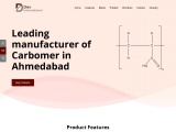 Leading Manufacturer & Supplier of Carbomer in Ahmedabad