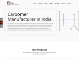 Leading Manufacturer of Carbomer in India at Best Price – Dev International