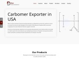 Quality Carbomer Exporters & Suppliers in the USA – Dev International