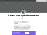 How You Can Get Best Carbon Steel Pipes Manufacturer For Your Industry