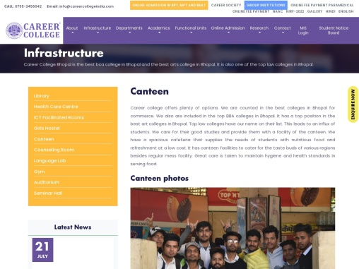 Best Pharmacy Colleges in Bhopal   Career College
