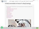 10 best universities in France to study Geology