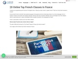 20 Online Top French Classes In France