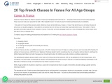 20 Top French Classes In France For All Age Groups