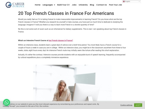 20 Top French Classes in France For Americans