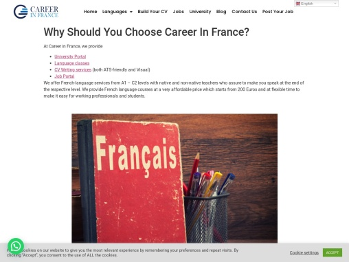 Why Should You Choose Career In France?