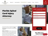 Spinal Cord Injury Attorney in Clearwater, FL   Carey Leisure & Neal