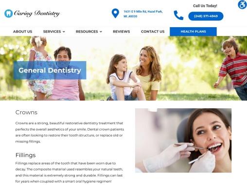 General Dentistry Hazel Park MI   Caring Dentistry