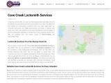 Cave Creek Locksmith – Locksmith Services