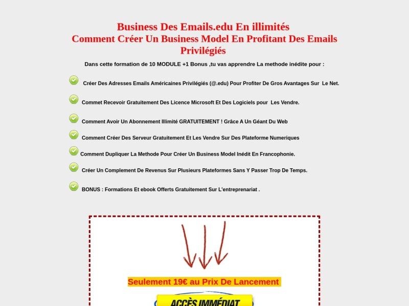 business inedit des emails privilegies.edu