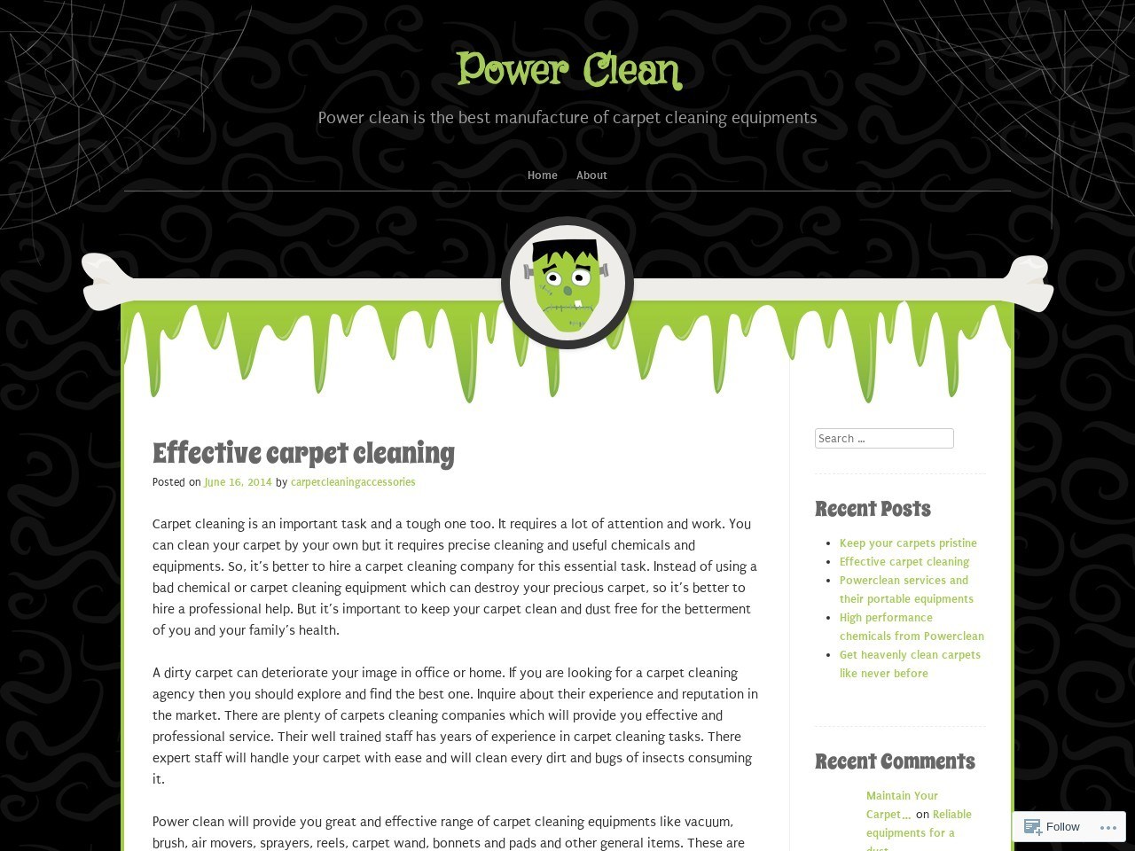 Effective carpet cleaning | Power Clean – WordPress.com