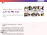 Carry My Pet- Relocate Pet Domestically and Internationally