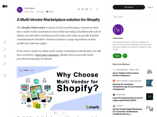 Shopify Multivendor Marketplace Services – Cartcoders