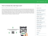 How do I activate my cash APP card without logging in?