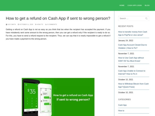 how can i get refund on cash app?
