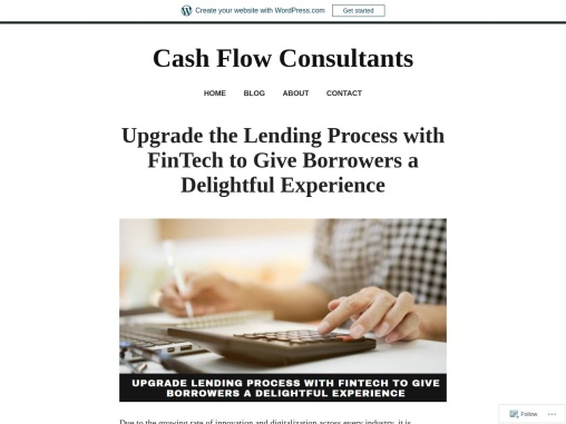Upgrade the Lending Process with FinTech to Give Borrowers a Delightful Experience